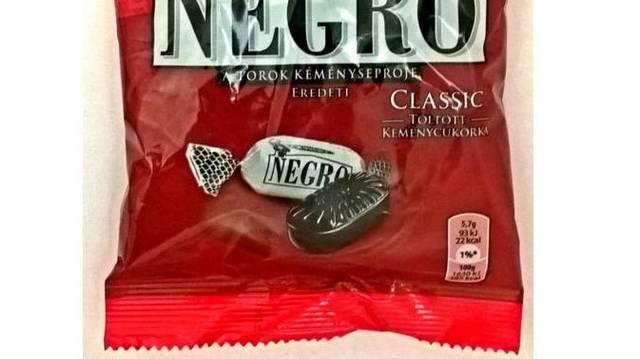 Hol gyártják a Negro cukorkát?