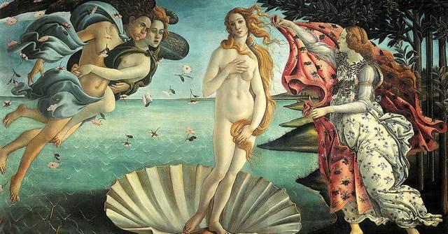 """Ki a """"Vénusz születése"""" című festmény alkotója?"""