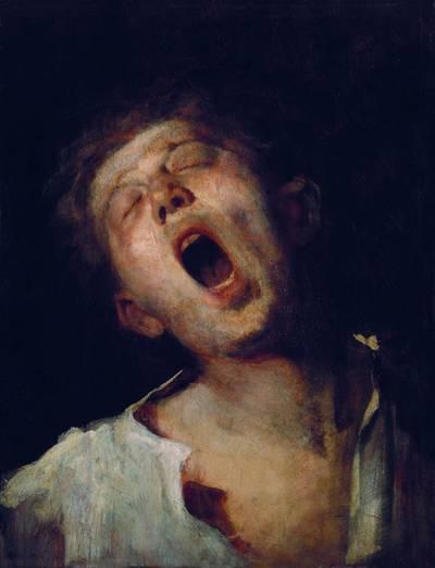 Ki festette az Ásító inas című festményt?