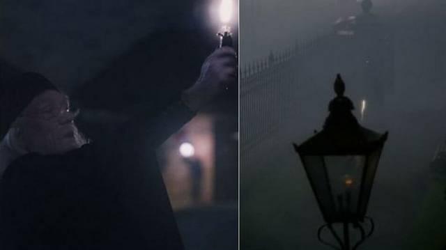 Kivel találkozik Albus Dumbledore   Little Whingingben,miközben az önoltót használta?