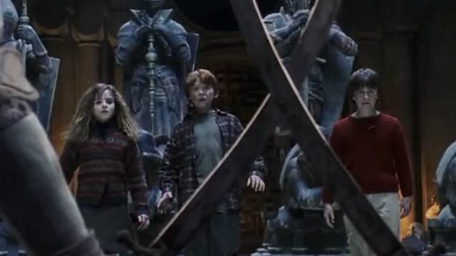 Hermione milyen bábú helyére áll be a varázslósakkban?
