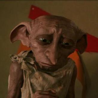 ...Harry hellyel kinálta Dobbyt.