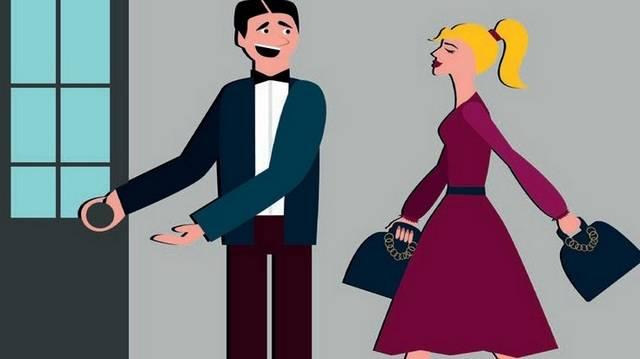 Étterembe ki lép be először? A nő vagy a férfi?