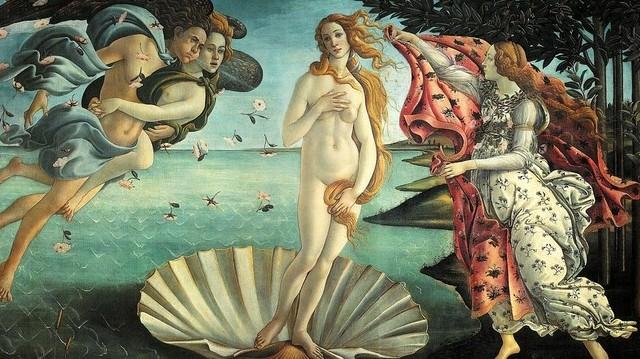 Kinek a műve a Vénusz születése?