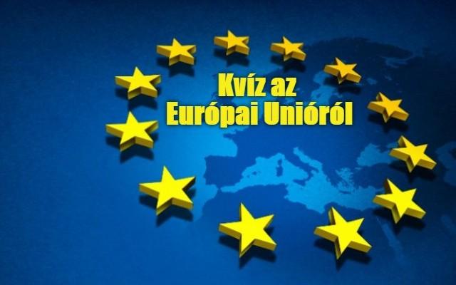 Európai Uniós kvíz - Most kiderül, mennyit tudsz az Európai Unióról