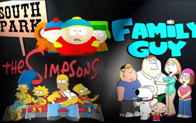 South Park, Family Guy vagy A Simpson család?