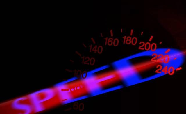 200 - 220 kilométer/óra