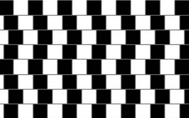 Igaz-e, hogy minden vonal egyenes a képen?