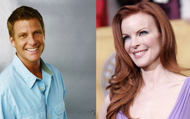 Doug Savant és Marcia Cross