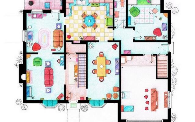 Melyik sorozatból ismerős ez a lakás?