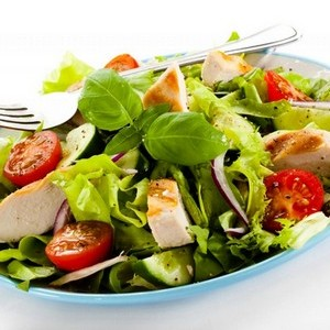 Este már csak saláta jöhet szóba