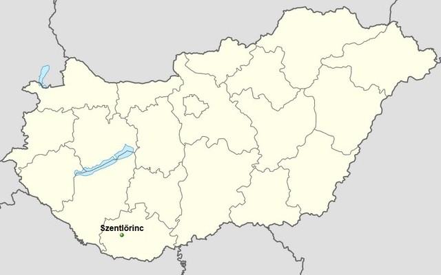 Melyik megyében található Szentlőrinc?