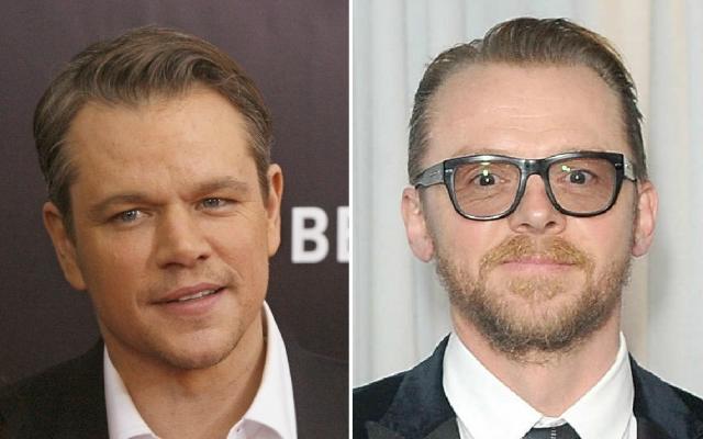 Hány éves Matt Damon és Simon Pegg?