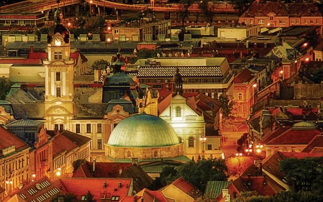 Tíz magyar nagyváros esti fényben. Így is tudod, hol készültek a képek?
