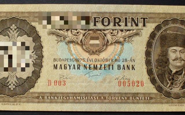 Magyar bankjegyek, és egy kis csel. Hány forintosak ezek a papírpénzek?