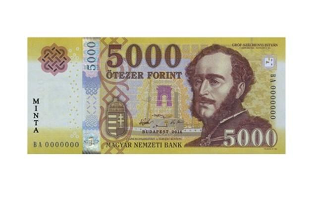 5000 Ft-os bankjegy, Gróf Széchenyi István