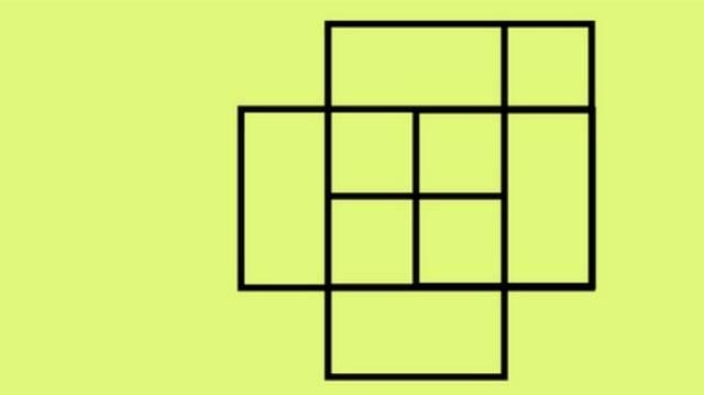 Hány négyzet van a képen?