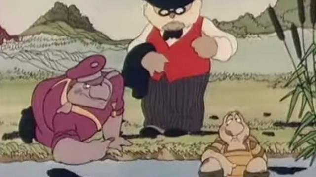 Mi volt a foglalkozása Teknőc Ernőnek a Kérem a következőt! című rajzfilmben?