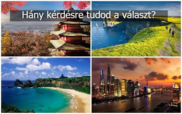 Melyik országban vannak az alábbi városok? II.