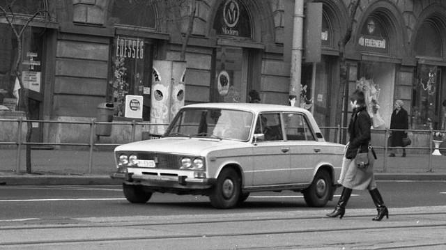 Milyen autó ez? (1982-es fotó: Fortepan, Magyar Rendőr)
