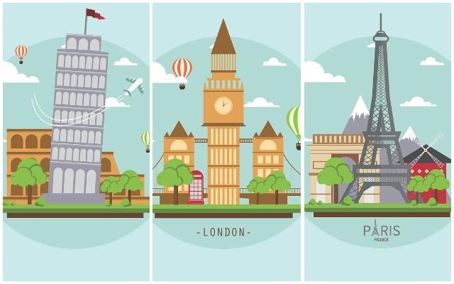KVÍZ: Tudod-e hol vannak ezek a híres épületek, ill. látnivalók? Mindegyikre tudod a választ?