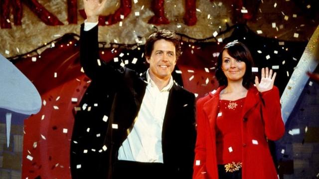 Melyik karácsonyi filmből van ez a képrészlet?  Főszereplő: Hugh Grant