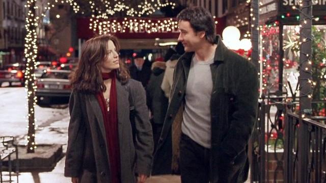 Melyik karácsonyi filmből van ez a képrészlet?  Főszereplő: Kate Beckinsale és John Cusack