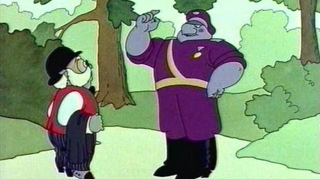 Hogy hívják a képen látható Dr. Bubó rajzfilm-sorozat szereplőt?