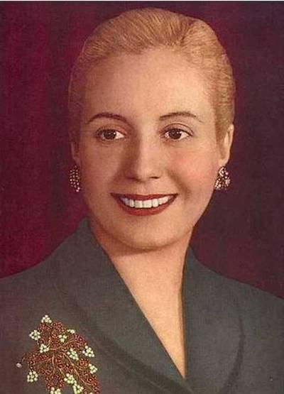 Melyik ország elnökének volt a második felesége Eva Perón, azaz Evita?