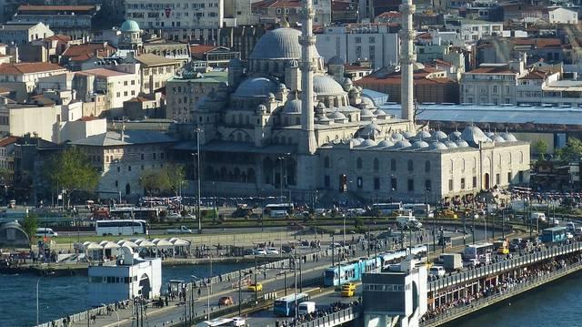 Melyik mai város területén található az egykori Konstantinápoly?