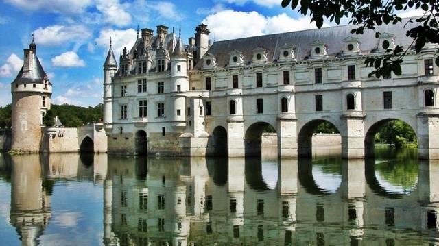 Hol vannak a Loire menti kastélyok?
