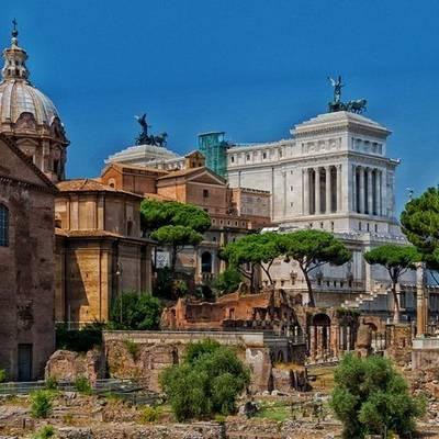 Melyik kép készült Rómában?