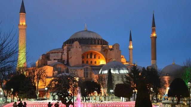 Hol található - a képen látható - Hagia Szophia?