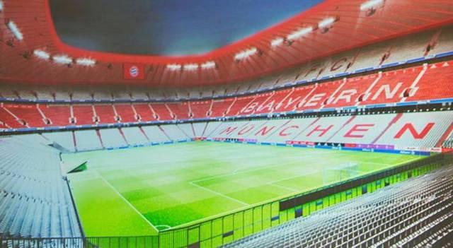 Mi a neve az FC Bayern München stadionjának?