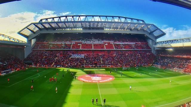 Hogy nevezik a Liverpool FC stadionját?