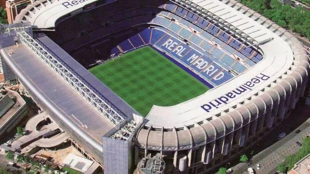 Mi a neve a Real Madrid CF stadionjának?
