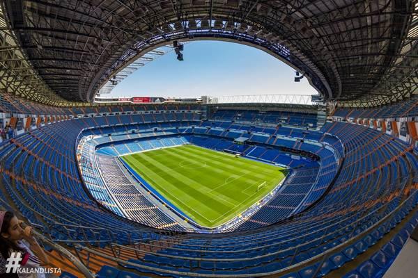 Hol található a Santiago Bernabéu stadion?