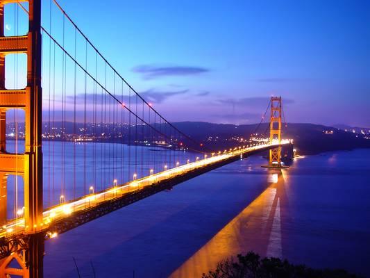 Melyik USA város hídja, a Golden Gate híd?