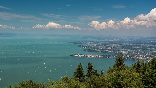 Hol található a Boden-tó?