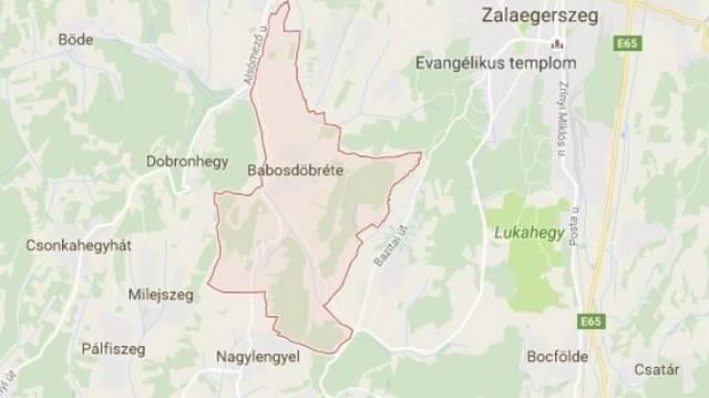 Babosdöbréte község Zala megyében