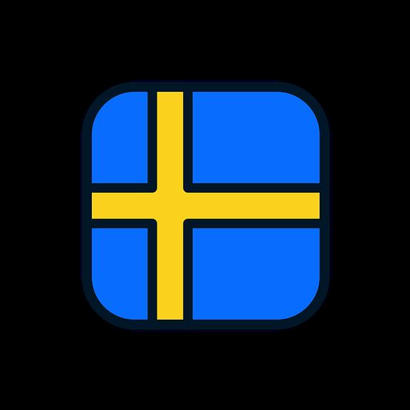 Válaszd ki a svéd zászlót!