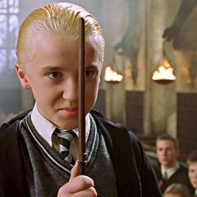 Draco Malfoy.
