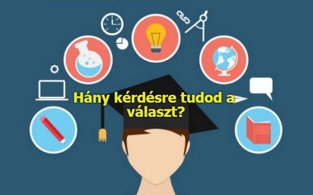 A tudás érték.....