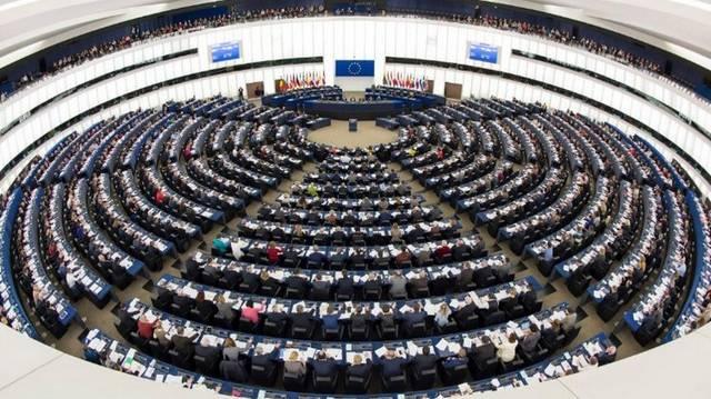 Hány képviselője van Magyarországnak az Európai Parlamentben (2019-ben)? (Fotó: Az EP strasbourgi plenáris terme; www.europarl.europa.eu)