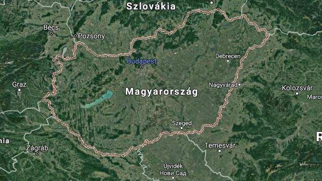 Melyik magyarországi megye határszéli?