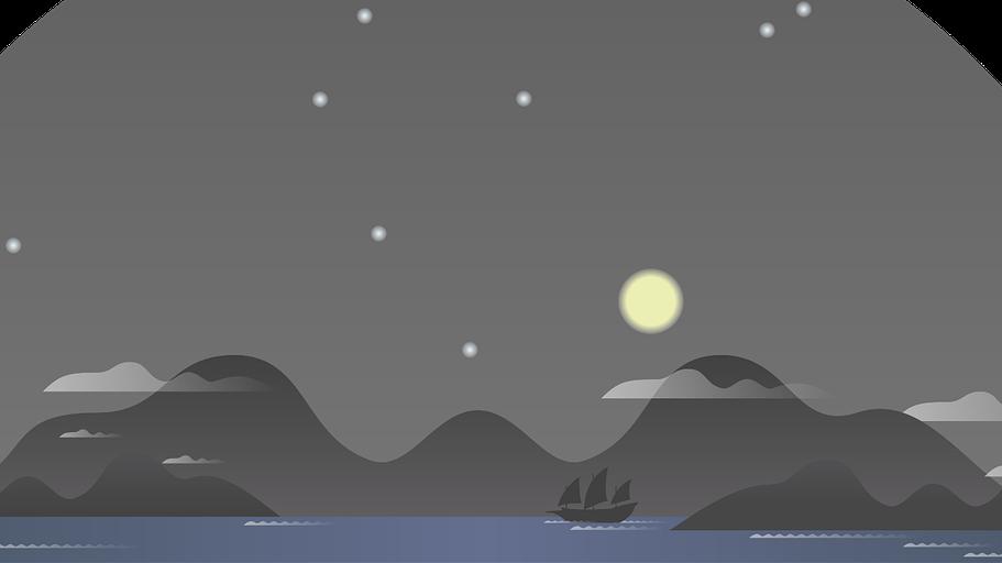 A tudomány jelenlegi állása szerint milyen anyagból származik a Hold?