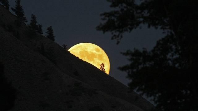 Te meg tudod állapítani, hogy fogyó vagy növekvő Holdat látsz? Segítünk: a vékony sarló csak abban különbözik, hogy melyik irányba mutat a domborodásuk. Szerinted melyik a fogyó Hold?