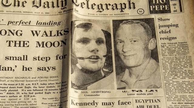 Ki volt Neil Armstrong társa, akivel a Hold felszínére lépett 1969. július 21-én?