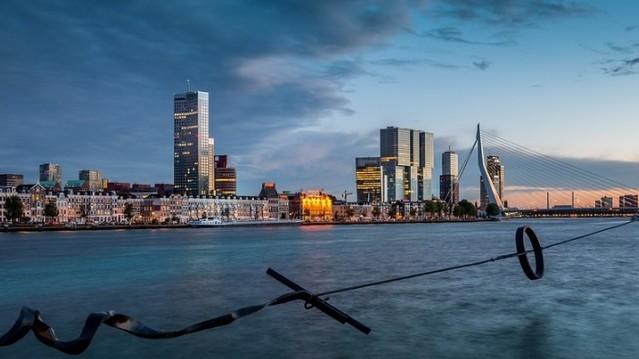 Hol található Rotterdam?