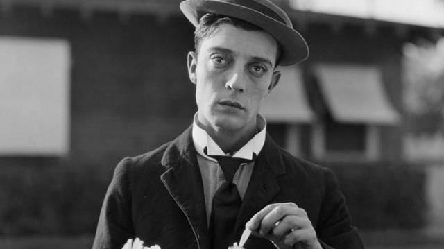 Hogyan nevezték a némafilmek egyik sztárját, Buster Keatont?